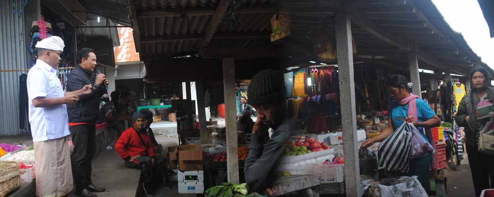 Pembangunan Kios Pasar Desa Pengotan
