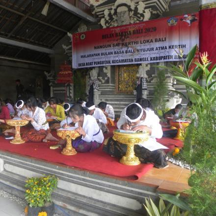 Bulan Bahasa Bali Desa Pengotan