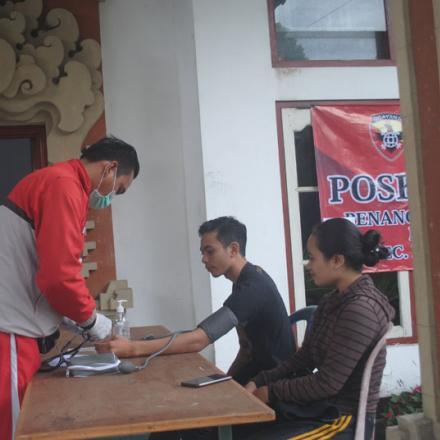 Posko Pelayanan Terpadu Desa Pengotan