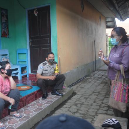 Kunjungan Satgas Desa Pengotan