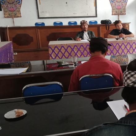 Rapat Rutin BPD Desa Pengotan