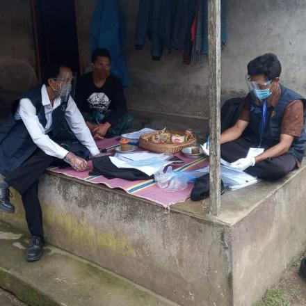 Sensus Penduduk Desa Pengotan