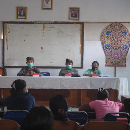 Sosialisasi  Program KKBPK Desa Pengotan Kecamatan Bangli Kabupaten Bangli