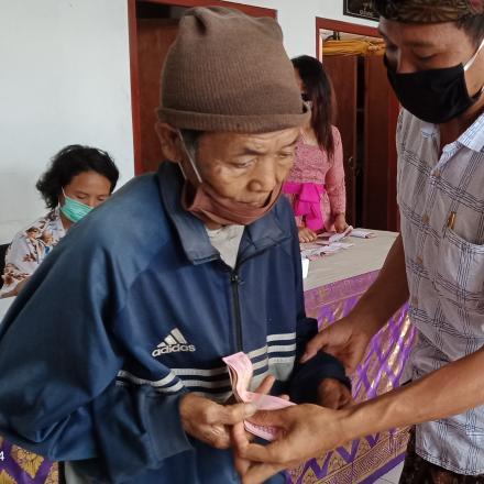 Realisasi BLT Desa Pengotan Kecamatan Bangli