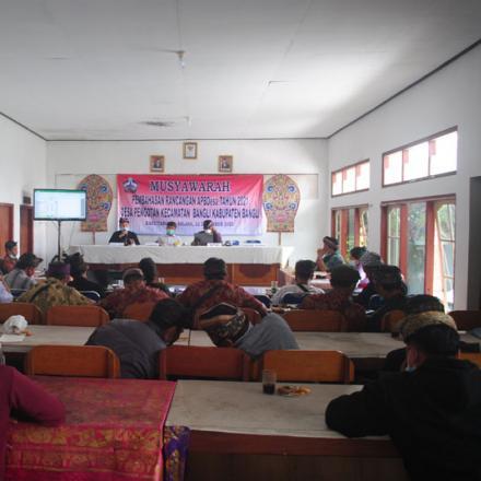 Musyawarah Pembahasan APBDesa tahun 2021 Desa Pengotan