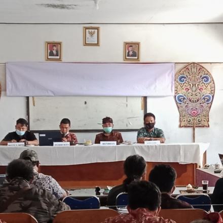 Pembentukan Satgas Terpadu Gotongroyong Covid-19 Desa Pengotan
