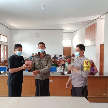 Realisasi BLT Dana Desa tahap IV Desa Pengotan Kec, Bangli