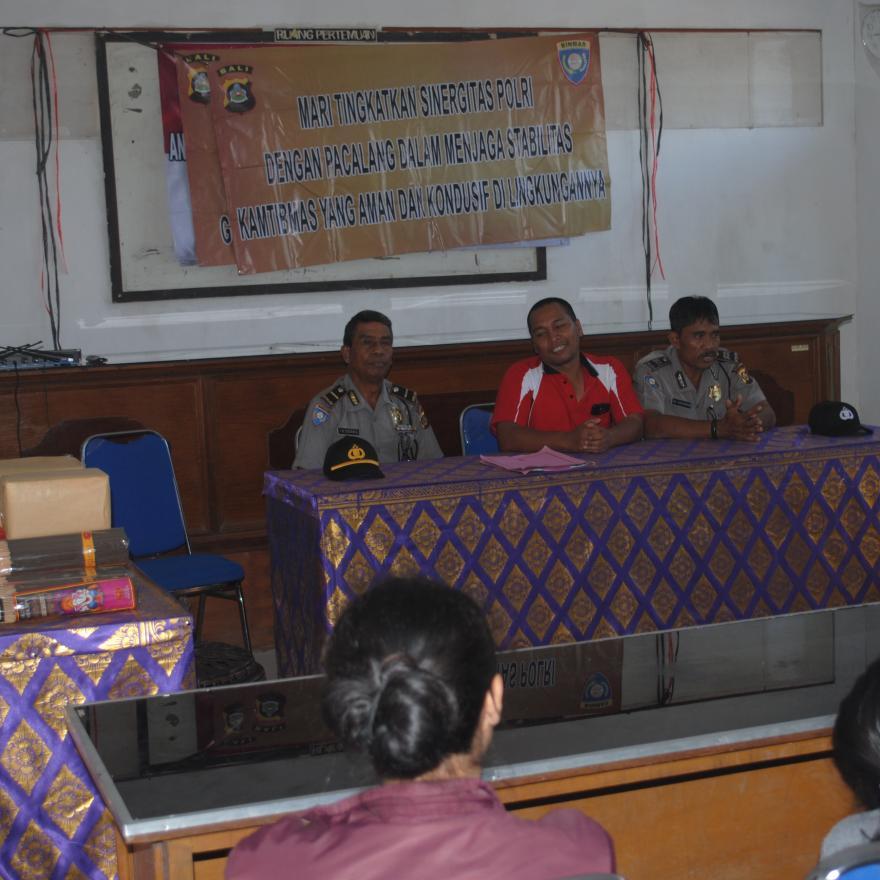 Sosial Kapolsek Bangli
