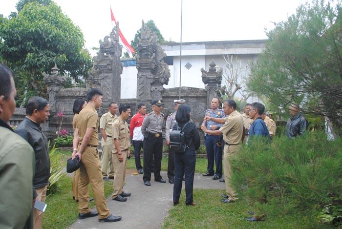 Kordinasi kunjungan pemerintah pusat
