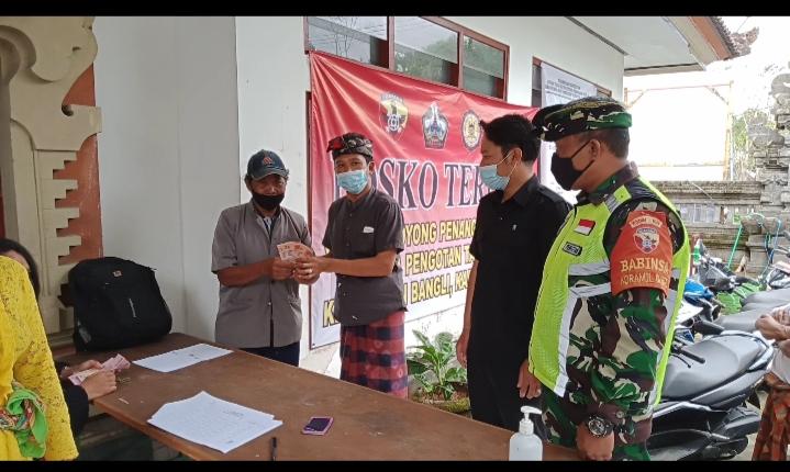 Realisasi BLT Dana Desa Pengotan Kecamatan Bangl kabupaten Bangli tahap III